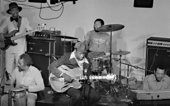 Grant Green and band in Vancouver 1975