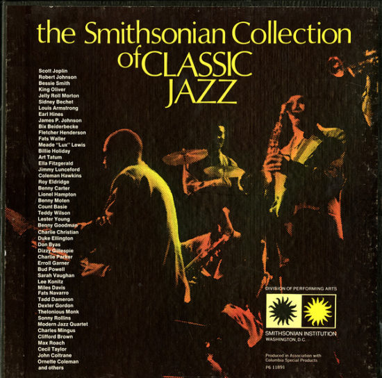 "Cover of ""The Smithsonian Collection of Classic Jazz"" (1973)"