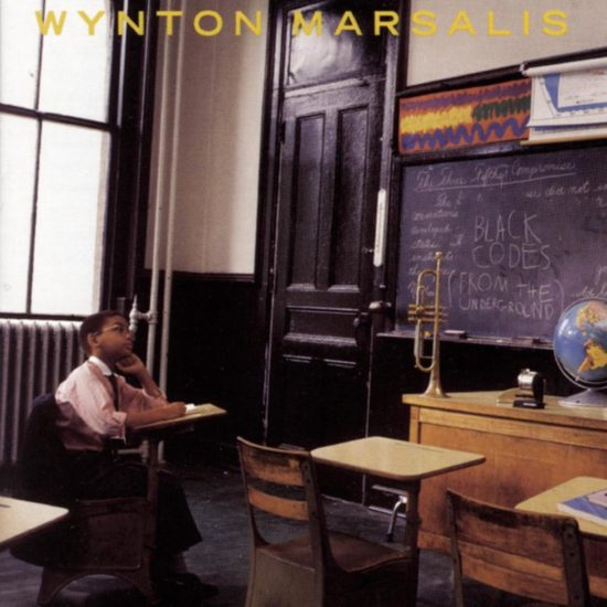 "Cover of Wynton Marsalis' album ""Black Codes (From the Underground)"" (1985)"