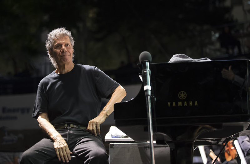 Artist-in-residence Chick Corea at the 2018 Detroit Jazz Festival