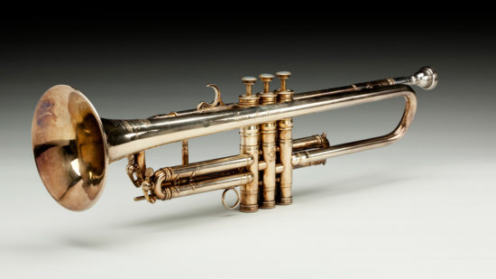 Louis Armstrong's 1946 Henri Selmer Trumpet