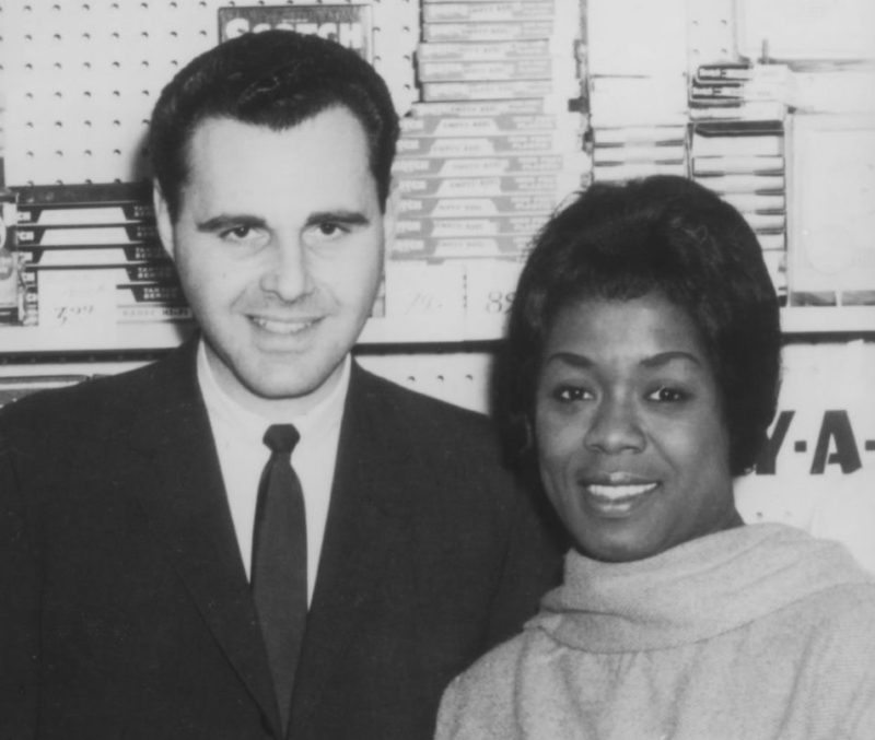 Ira Sabin and Sarah Vaughan circa 1967