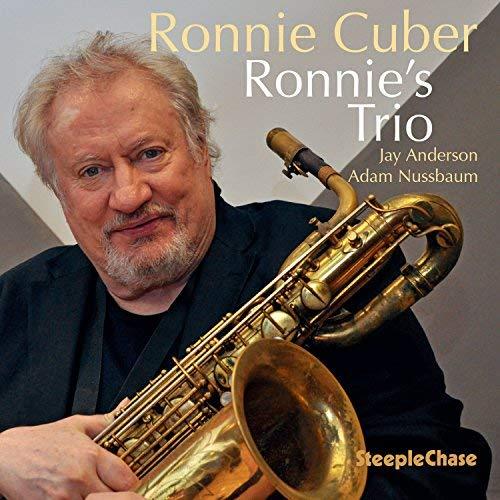 Cover of Ronnie Cuber album Ronnie's Trio