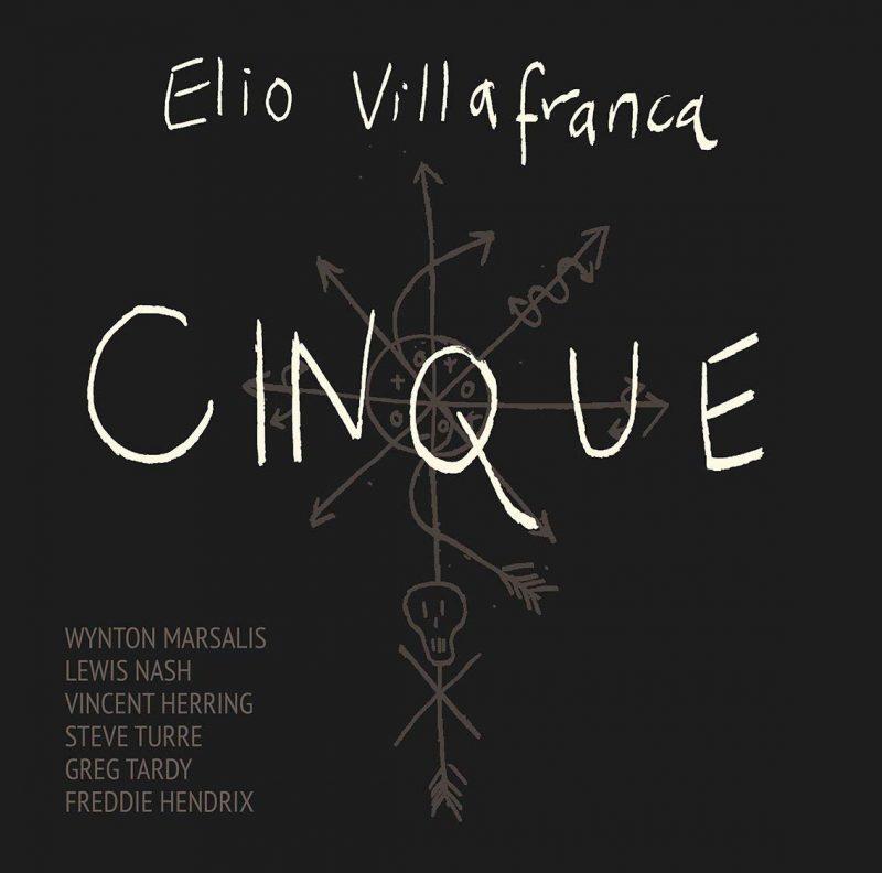 Cover of Elio Villafranca album Cinque