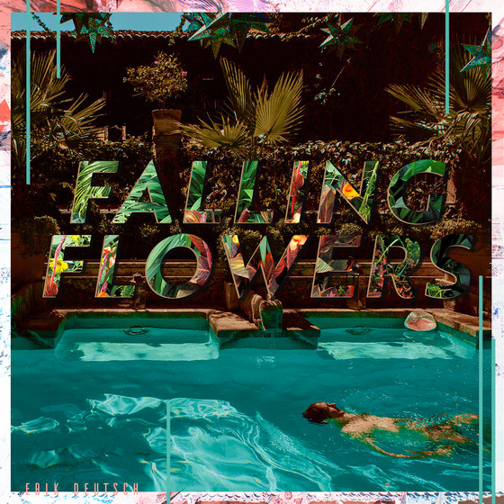 Cover of Erik Deutsch album Falling Flowers