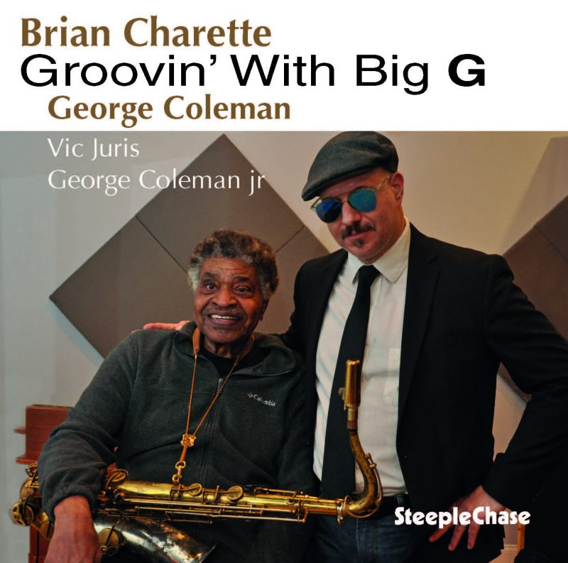 Cover of Brian Charette and George Coleman album Groovin' with Big G