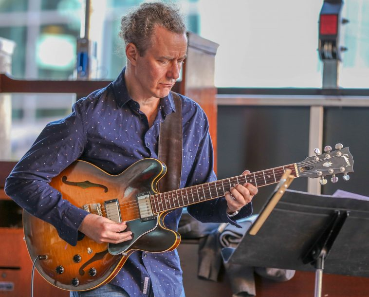 Adam Rogers at the Berklee Beantown Jazz Festival, Sept. 29, 2018