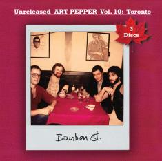 Cover of Art Pepper album Unreleased Art Pepper, Vol. 10: Toronto