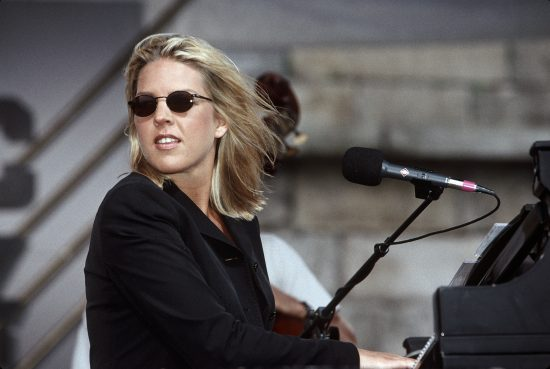 Diana Krall at the Newport Jazz Festival, August 14, 1999