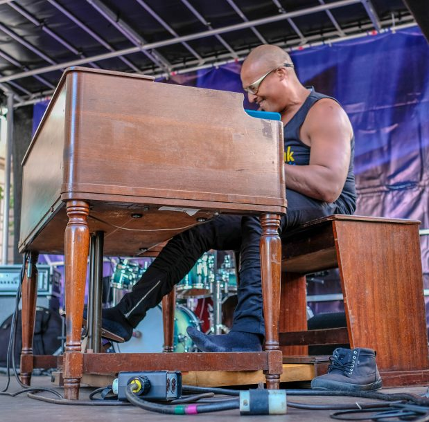 Gregory Lewis at the Berklee Beantown Jazz Festival, Boston, MA, Sept. 29, 2018