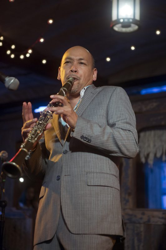 Evan Christopher at the 2018 New York Hot Jazz Festival (photo: Alan Nahigian)