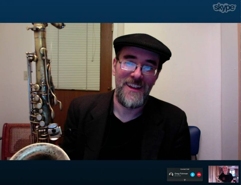 Greg Fishman via Skype