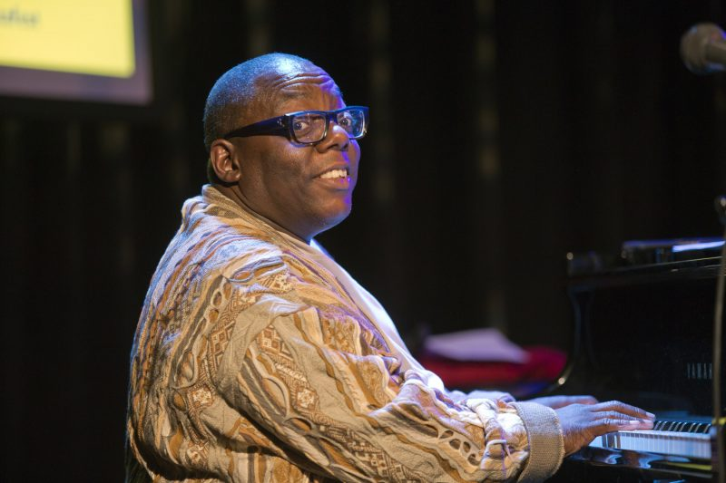 Cyrus Chestnut at the 2018 BRIC JazzFest