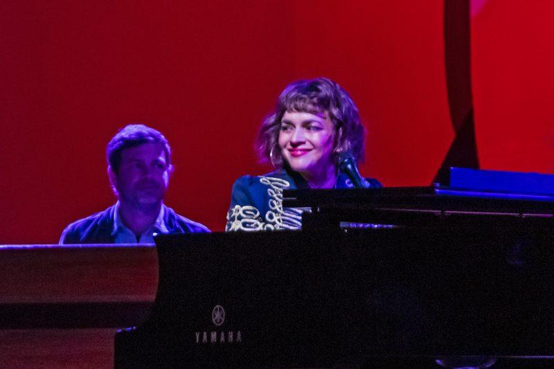 Norah Jones at the 61st Monterey Jazz Festival, September 21, 2018