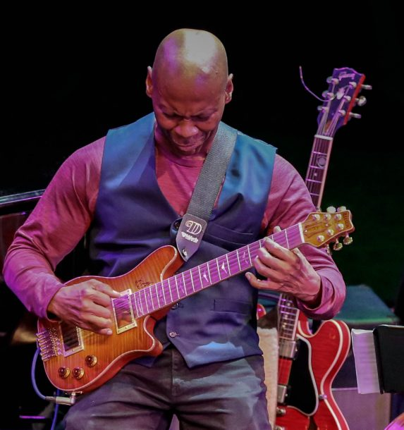 "Kevin Eubanks at ""The Art of the Tenor: Celebrating Bill Pierce,"" Berklee Performance Center, Boston, MA, Sept. 26, 2018"