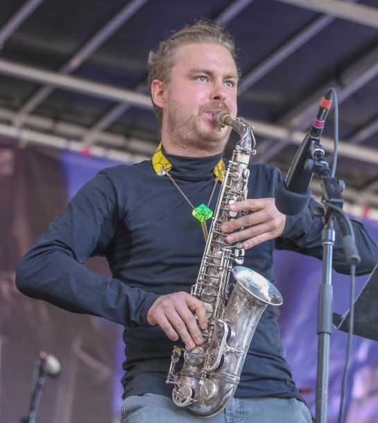 Philipp Gerschlauer at the Berklee Beantown Jazz Festival, Boston, MA, Sept. 29, 2018