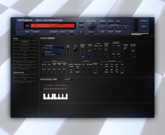 Roland SRX KEYBOARDS Software Synthesizer