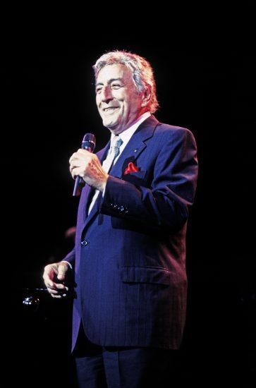 Tony Bennett at a mere 72, Radio City Music Hall, October 17, 1998