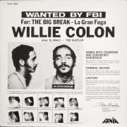 Cover of Willie Colón album <I>The Big Break—La Gran Fuga</I>