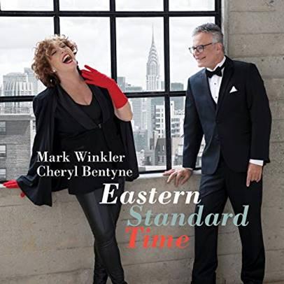 Cover of Mark Winkler & Cheryl Bentyne album Eastern Standard Time