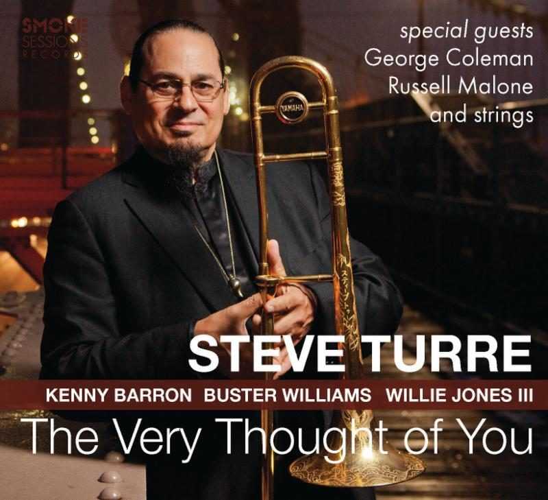 Cover of Steve Turre album The Very Thought of You