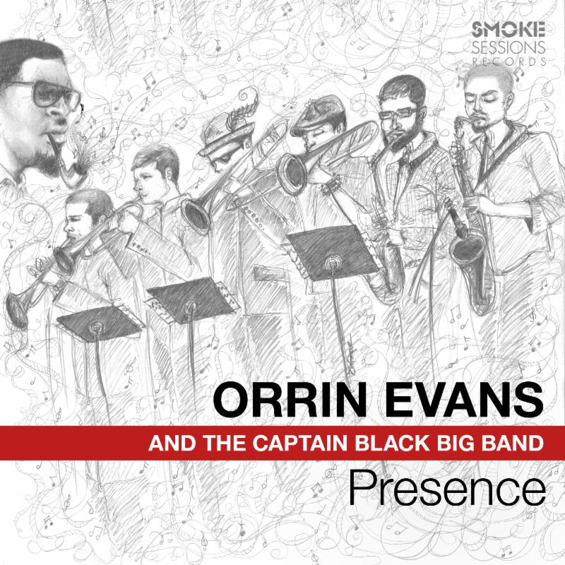 Cover of Presence by Orrin Evans and the Captain Black Big Band