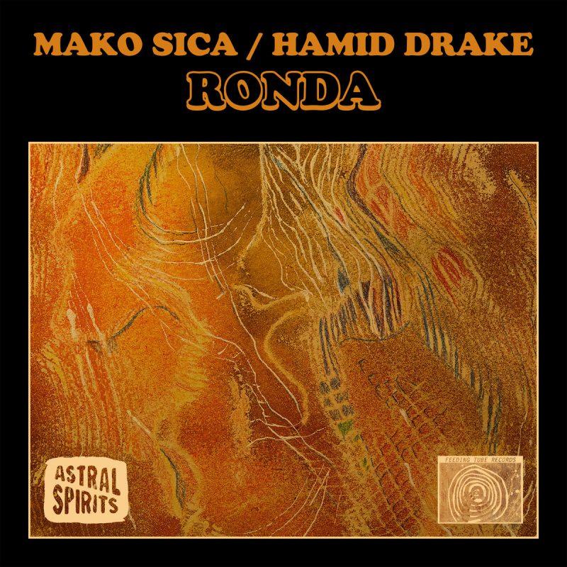 Cover of Mako Sica and Hamid Drake album Ronda