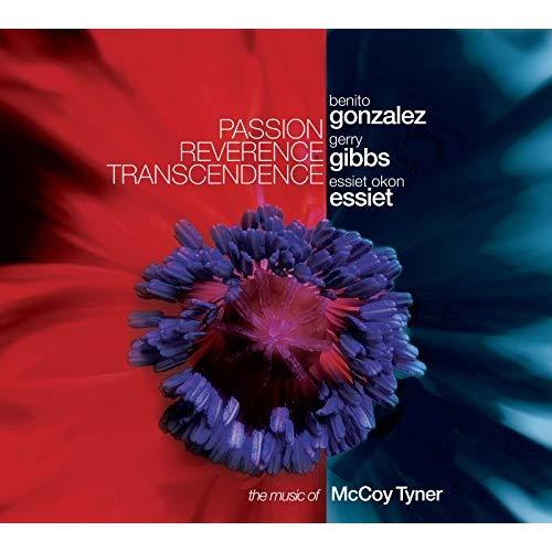 Cover of Benito Gonzalez/Gerry Gibbs/Essiet Essiet album Passion Reverence Transcendence