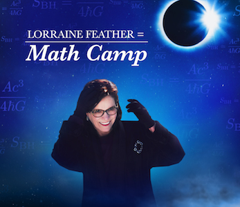 Cover of Math Camp by Lorraine Feather