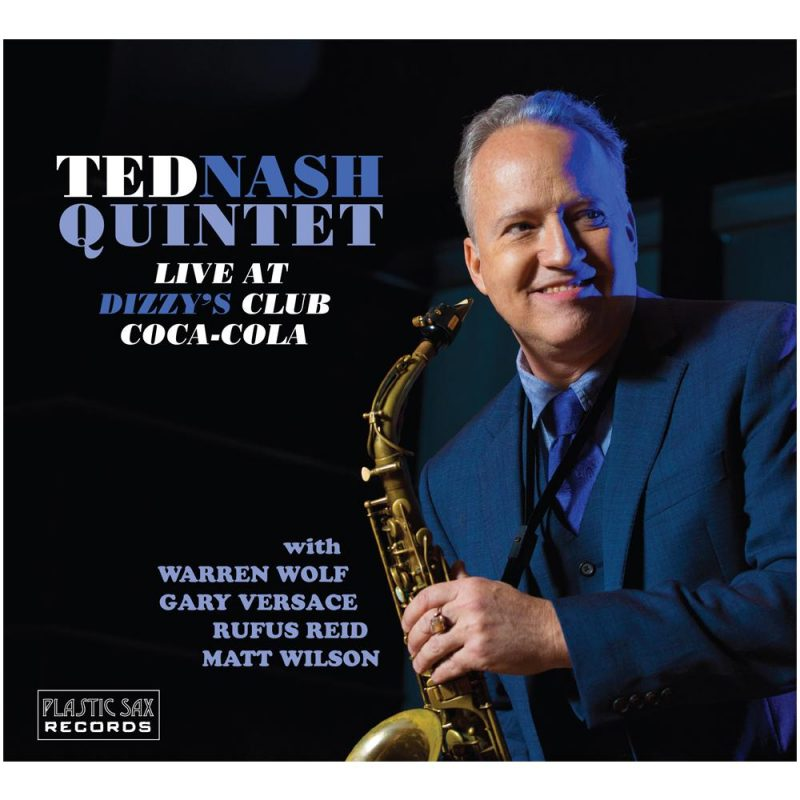 Cover of Ted Nash album Live at Dizzy's Club Coca-Cola