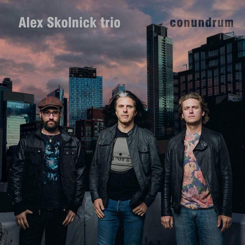 Cover of Alex Skolnick Trio album Conundrum