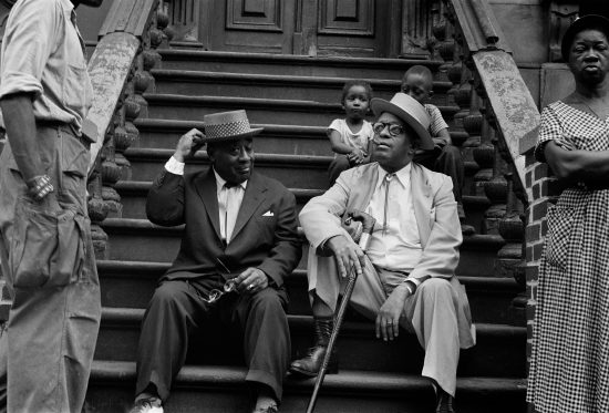 Luckey Roberts and Willie The Lion Smith (photo by Art Kane)