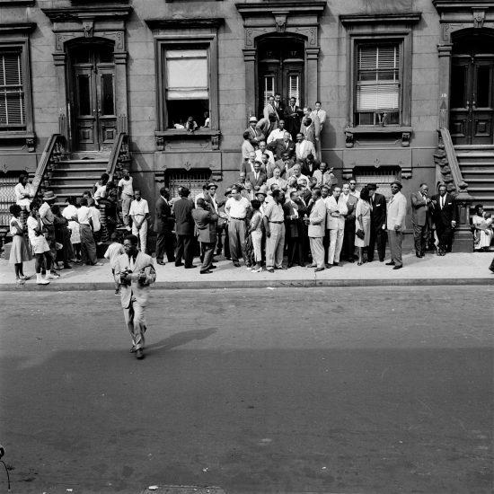 Harlem 1958 photo shoot (photo by Art Kane)