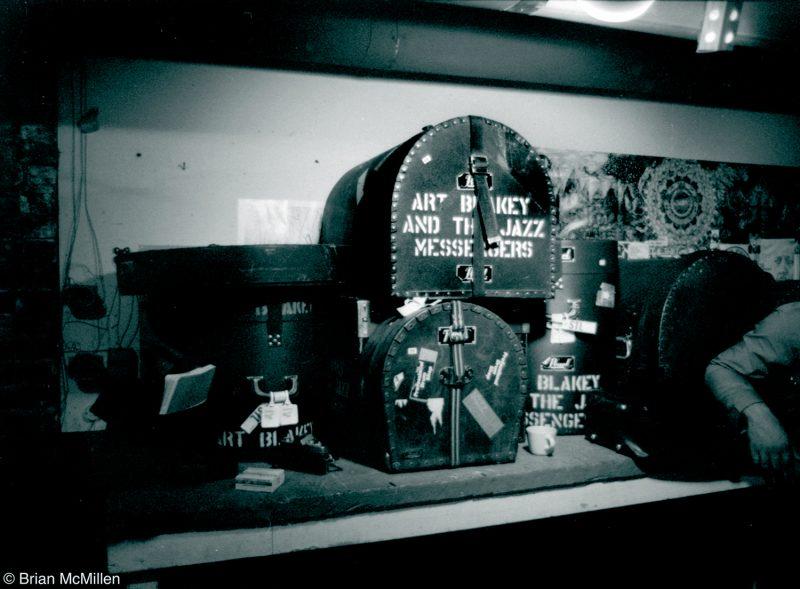 Art Blakey's Drum Cases