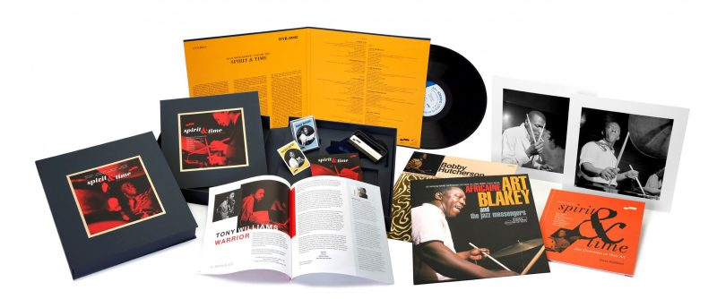 Box and contents of Blue Note Review: Volume 2 — Spirit & Time