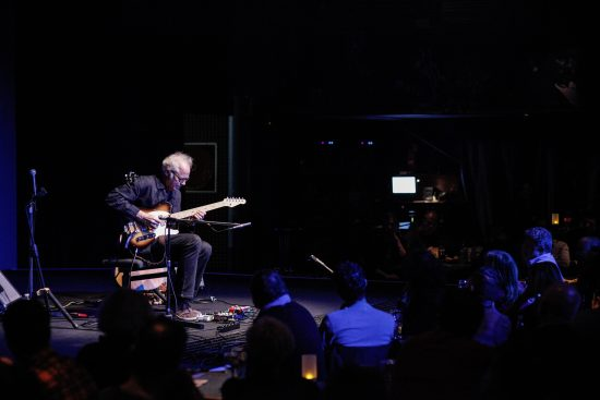 Bill Frisell at the 2018 JazzMi festival in Milan, Italy