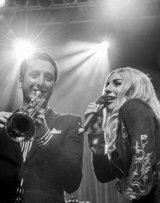 Brian Newman and Lady Gaga