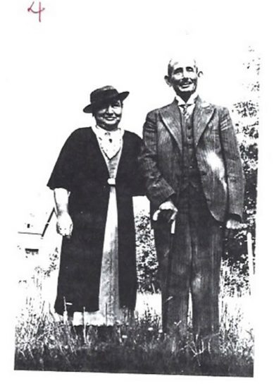 Parents of Erich Rosenthal