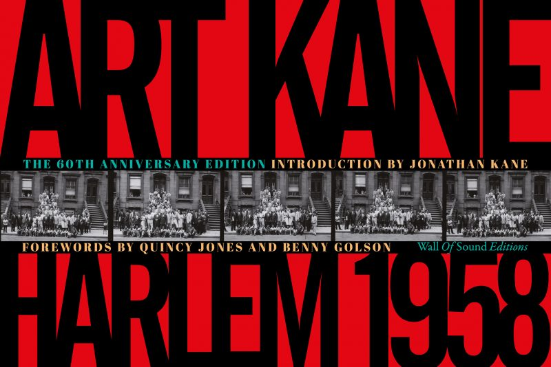 Cover of Art Kane Harlem 1958