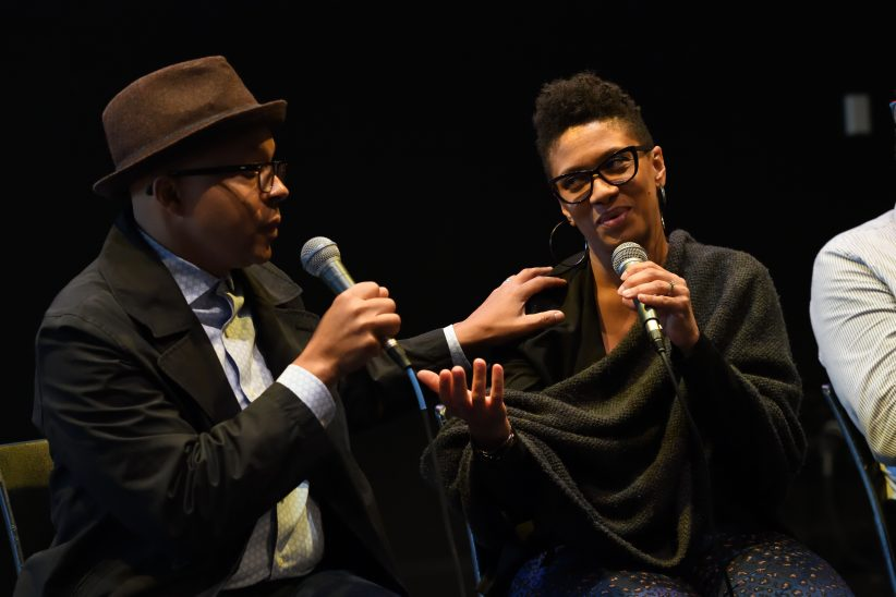 Marcus and Jean Baylor of the Baylor Project discuss the importance of an artist building a team to support them in panel at 2018 Jazz Philadelphia Summit