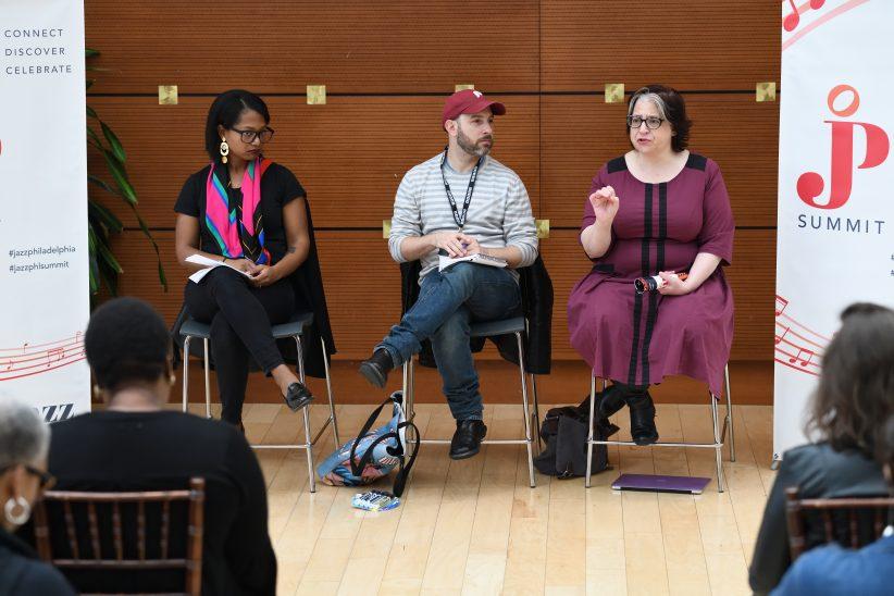 Panel at 2018 Jazz Philadelphia Summit