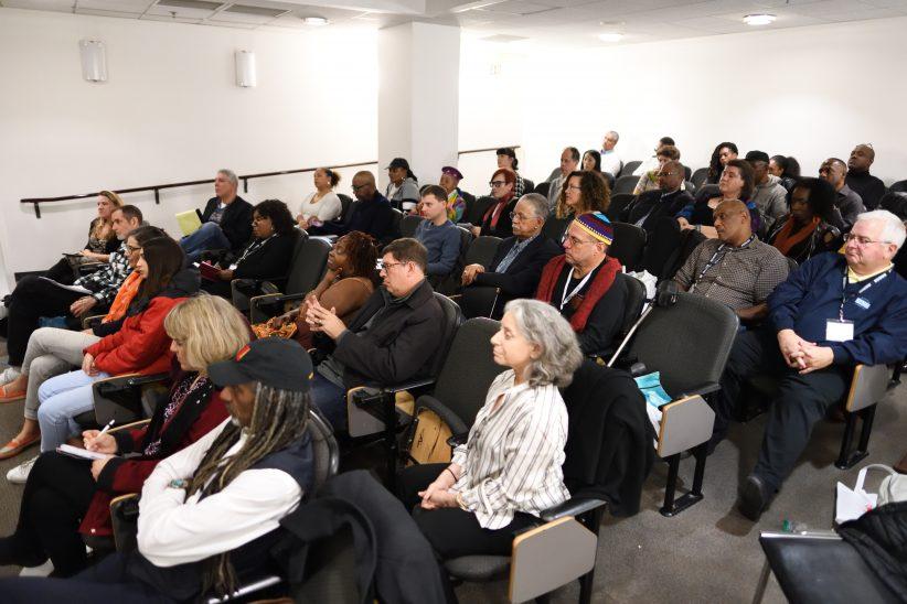 Audience at panel on Funding for Jazz at Jazz Philadelphia Summit