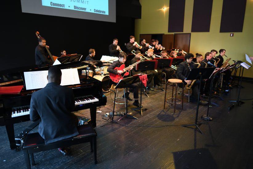 University of the Arts Big Band performs during 2018 Jazz Philadelphia Summit