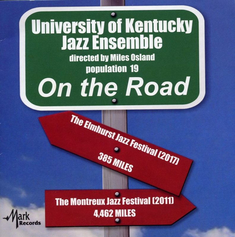 Cover of University of Kentucky Jazz Ensemble album On the Road