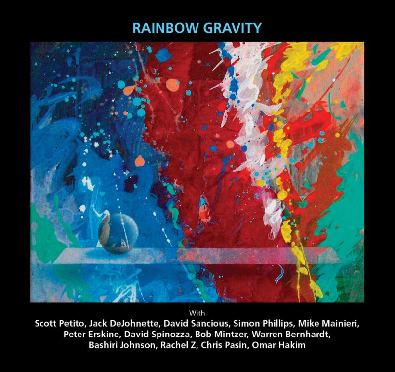 Cover of Scott Petito album Rainbow Gravity
