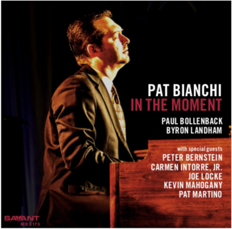 Cover of Pat Bianchi album In the Moment