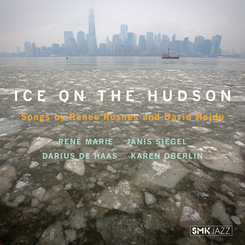 Cover of Renee Rosnes and David Hajdu album Ice on the Hudson