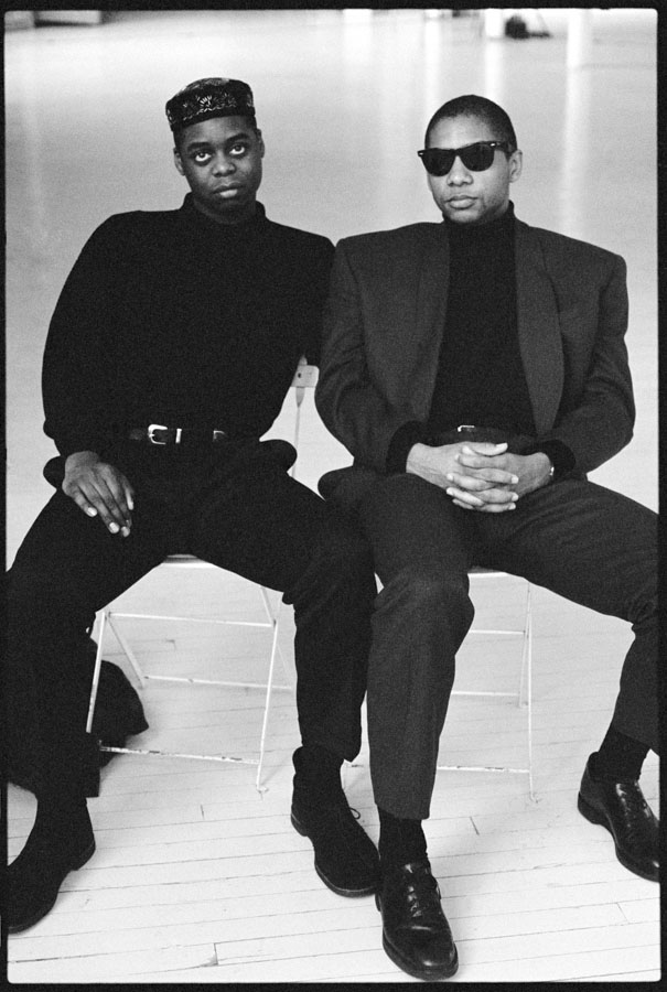 Courtney Pine and Branford Marsalis