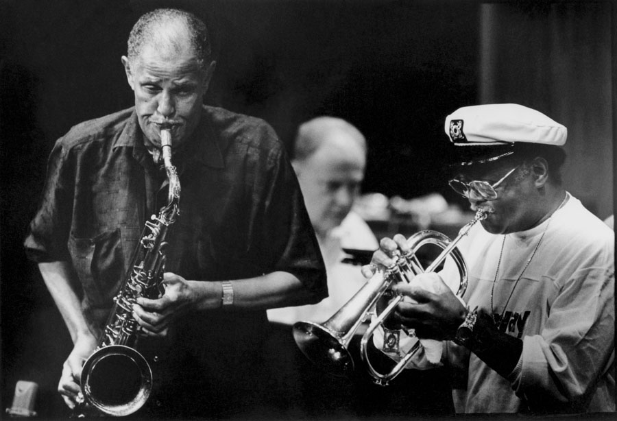 Dexter Gordon and Clark Terry