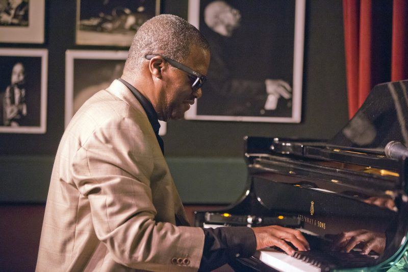 Marcus Roberts at the Village Vanguard, New York, Nov. 13, 2018